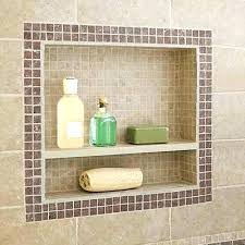 shower niche install how to build a shower niche one from this old house installing shower niche installing shower schluter shower niche shelf installation