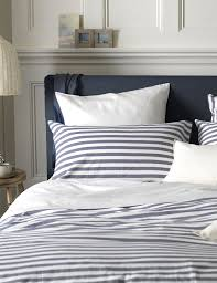 nautical navy stripe bedding at secret linen