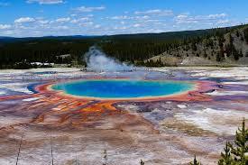 Resultado de imagen de Charcas calientes del Yellowstone