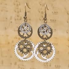 Grace Callie Designs Coupon Code Antique Steampunk Drop Earrings