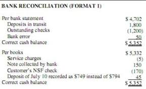 bank reconciliation form 19 answers how to reconcile a bank statement quora