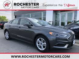 2018 ford fusion se special w heated leather seats rochester mn winona lake city austin minnesota 3fa6p0hd9jr104362