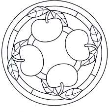 Small Picture Apple Mandala Coloring Pages Mandala Coloring pages of