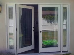 single patio doors. Single French Patio Door With Screen Options To Replace Sliding Glass Center Swing Doors