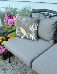 patio furniture slip covers learn how to easily recover your outdoor patio cushions hot tub custom patio furniture