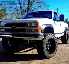 Silverado 98 chevy silverado lifted : Wheel Offset 1998 Chevrolet Silverado Super Aggressive 3 5 ...