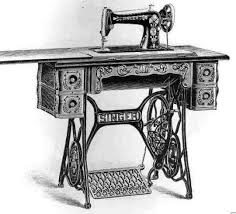 Vintage American Home Sewing Machine