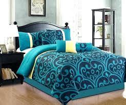 dark teal duvet cover teal comforter black and teal comforter awesome 7 full size bedding blue