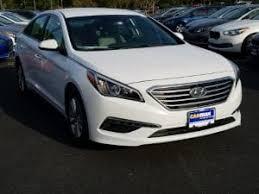 hyundai sonata 2015 white.  Sonata 2015 Hyundai Sonata SE In Town Center Georgia 30144 Intended White