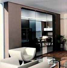 Kitchen Divider Dark Translucent Glass Kitchen Living Room Divider Ideas On Beige