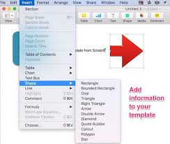 how to create impressive pages doents and templates on mac pages templates from stratch