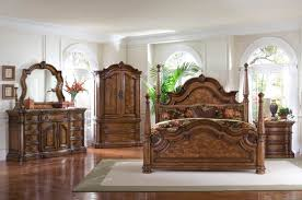 wood bed frame king. King Size Master Bedroom Sets Buying Guide : Sign Idea With Brown Wooden Bed Wood Frame G