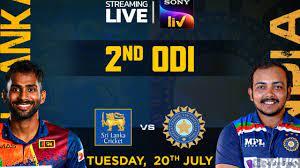 Sri Lanka vs India Live Streaming ...