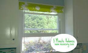 5 minute window valance no skill no sew part ii i