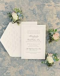 Classic And Romantic Dusty Blue Wedding Invitations