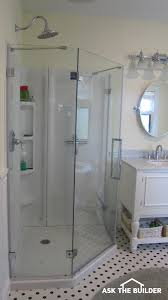 acrylic shower walls installing