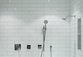 installing subway tile shower luxury choosing between a prefabricated stall or tiled shower