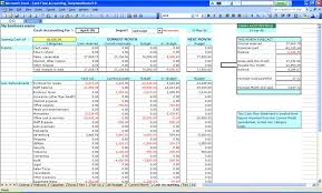 Small Business Financial Analysis Spreadsheet Accounting