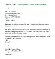 9 Standard Business Letter Format Templates To Download Sample
