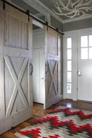 industrial barn door hardware and barn doors traditional entry