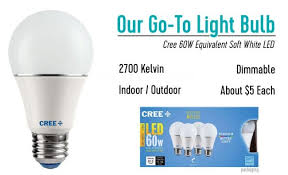 you ll find this cree 60w equivalent soft white led light bulb in most of the fixtures in our house lamps overhead lights sconces etc