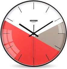 colorful wall clocks metal wall clock
