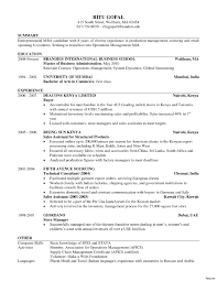 Exelent Mba Resumes Motif Documentation Template Example Ideas