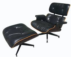 lounge chair  ottoman by charles and ray eames for