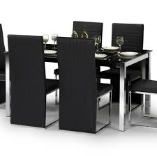 dining room great concept glass dining table. Terrific Black Dining Room Sets With Excellent Chair Concept And Exclusive Utensils For Modern Home Great Glass Table O