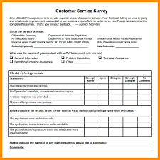 Customer Satisfaction Survey Template Excel Free Customer Satisfaction Survey Template Word Document