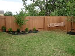 Exterior Fencing Designs Colors Backyard Fence Ideas Home Design Articles Photos