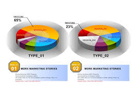 Pie Chart Templates Unique 48 Powerpoint Diagrams Charts 48D Template