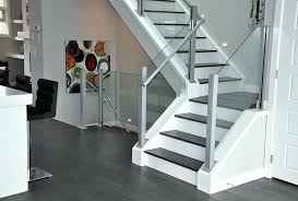 contemporary glass stair railings and components railing cost glass stair
