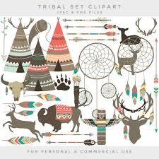 Aboriginal Dream Catchers Tribal clipart teepee feathers clip art ethnic deer dreamcatcher 88