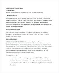 Accounting Resume Cover Letters Tax Accountant Cover Letter Free Download Free Accountant Resume