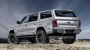 2020 Ford Bronco Rendering  2