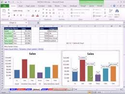 Excel Magic Trick 804 Chart Double Horizontal Axis Labels Vlookup To Assign Sales Category