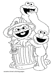 Coloring Pages Sesame Street Coloring Pages For Toddlers Children