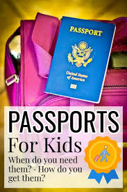 obtaining travel doents for kids