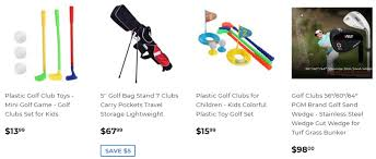 Golf Clubs For Kids How To Know The Distance Of Each Club