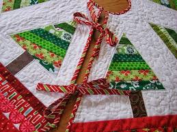Best 25+ DIY quilted Christmas tree skirt ideas on Pinterest | DIY ... & Quilted Christmas Tree Skirt Tutorials I Want to Try : Behind  Mytutorlist.com Adamdwight.com