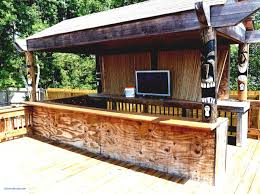 outdoor tiki bar ideas backyard diy outside plans fortable engrossing backyard tiki bar ideas