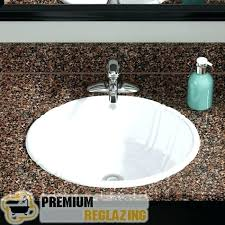 reglaze bathroom sink excellent bathroom sink bathroom sink refinishing bathroom sink cost to reglaze bathroom sink