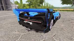 Created in a era where designers used pencil and paper, their elegant shapes and flowing lines reflected the mood and trends of the time. Bugatti Vision Gran Turismo For Farming Simulator 2017