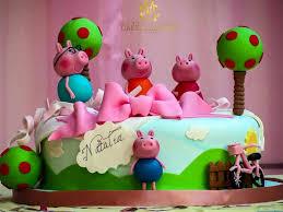 Peppa Pig Birthday Cake Love It Happy Cm Cake Designers