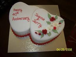 40th Wedding Anniversary Cake Designs Idea In 2017 Bella Wedding