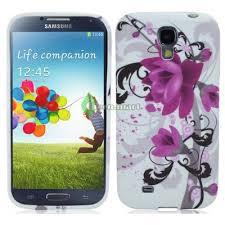 <b>Силиконовый чехол Red</b> Flower For Samsung Galaxy S4 9500 ...