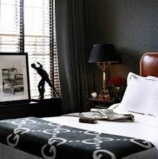 bedroom and more. Black Bedrooms Always Look More Masculine Than Feminine So Thing About Choosing This Color As The Bedroom And
