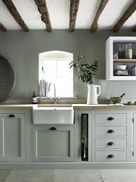 Henley Kitchen Hand Painted In Sage Great Idea For Pull Out Towel