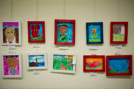 Childrens Artwork Display Utah County Arts Board Exhibits Childrens Art Show The Ticket